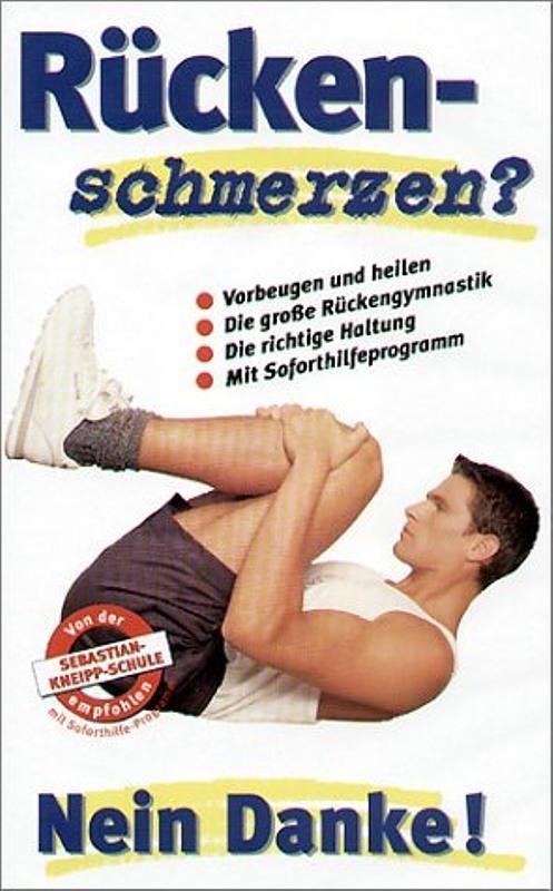 Rückenschmerzen? Nein Danke! VHS-Video Bild