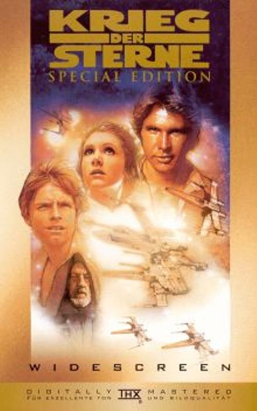 Krieg der Sterne - Special Edition VHS-Video Bild