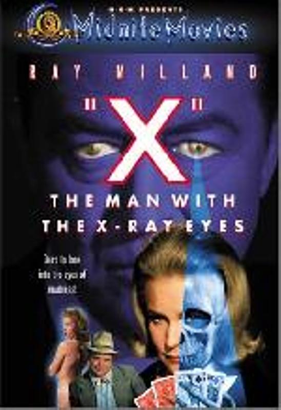 Der Mann mit den Röntgenaugen - RC1 DVD Bild