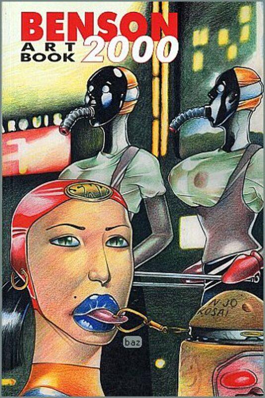 Benson Art Book Buch Bild