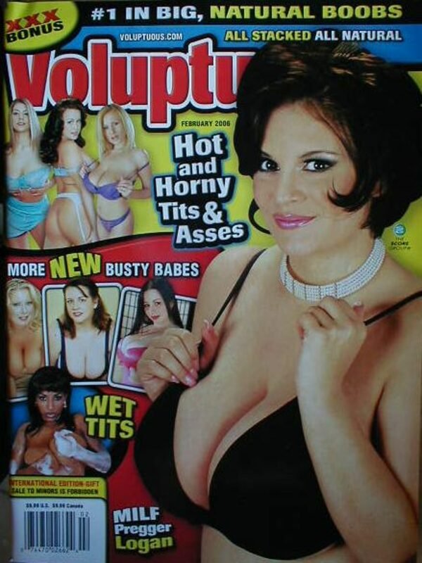 Voluptuous Februar 2006 mit DVD Magazin Bild