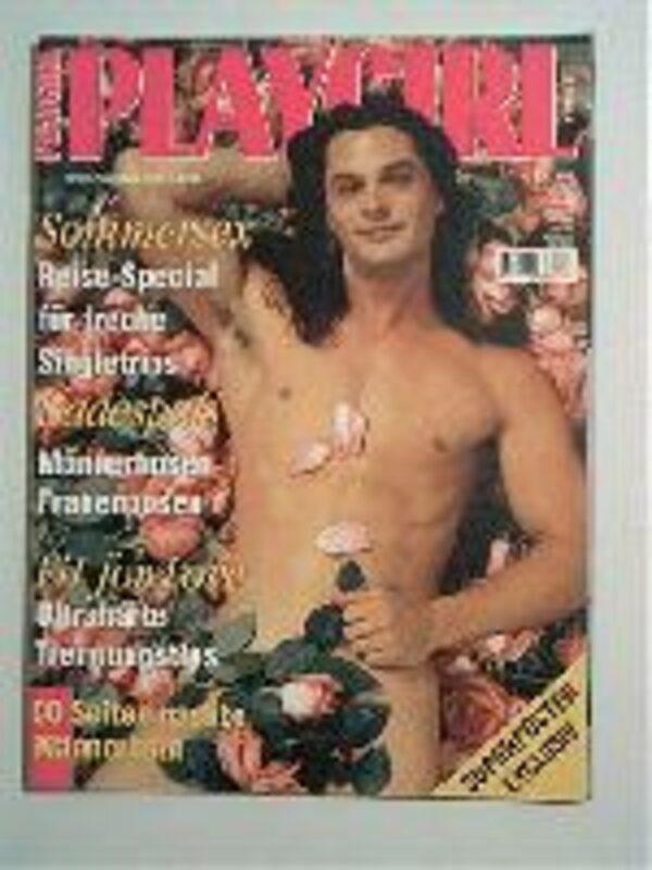 Playgirl 06/1995 Gay Buch / Magazin Bild