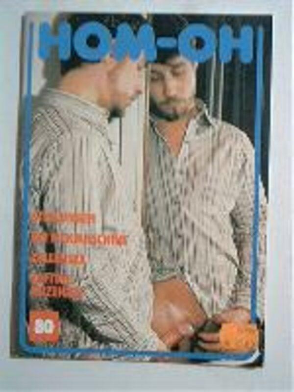 Homoh Nr.80 Gay Buch / Magazin Bild