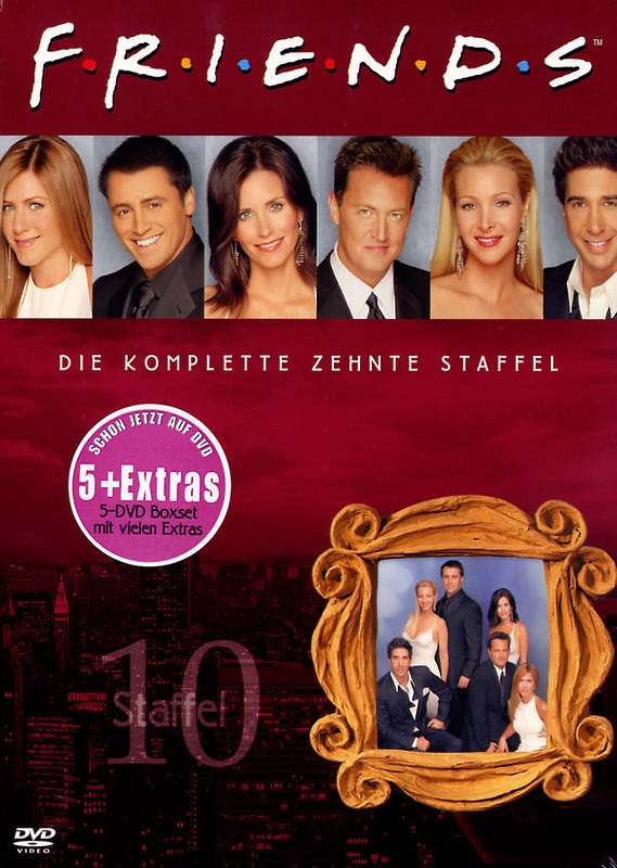 Friends - Box Set / Staffel 10  [5 DVDs] DVD Bild