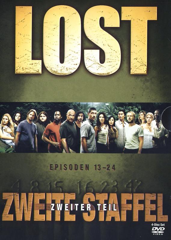 Lost - Staffel 2/Teil 2  [4 DVDs] DVD Bild