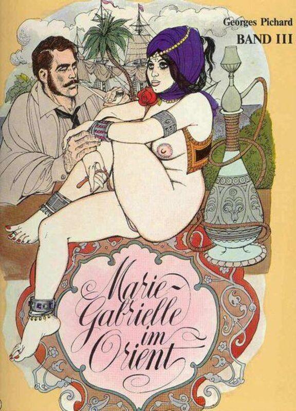 Marie-Gabrielle im Orient Band 3 Comic Bild