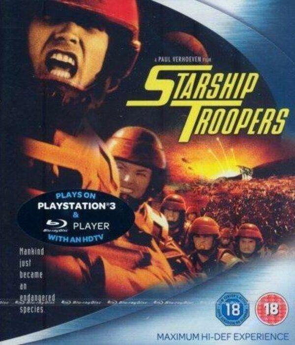 Strarship Troopers HD-DVD Bild