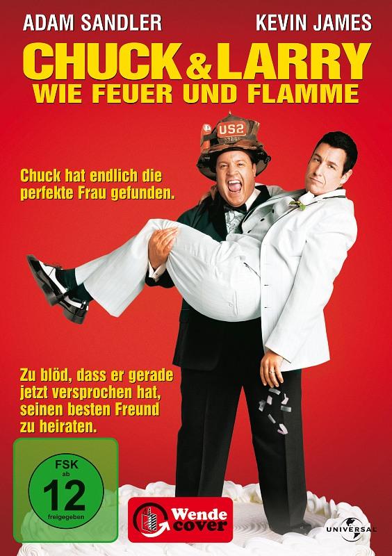 Chuck & Larry - Wie Feuer und Flamme DVD Bild