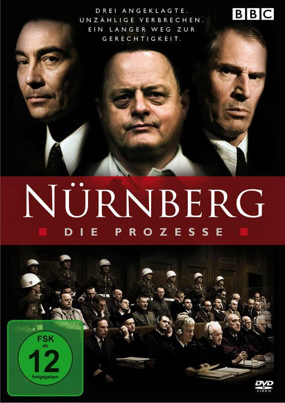Nürnberg - Die Prozesse DVD Bild