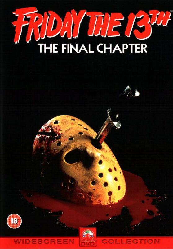 Friday the 13th - The Final Chapter UK DVD Bild