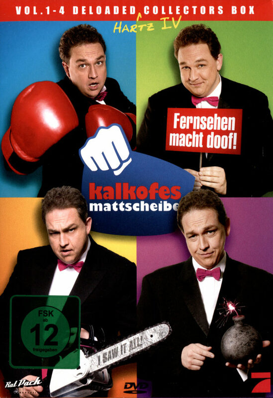 Kalkofes Mattscheibe Vol. 1-4 - Box  [4 DVDs] DVD Bild