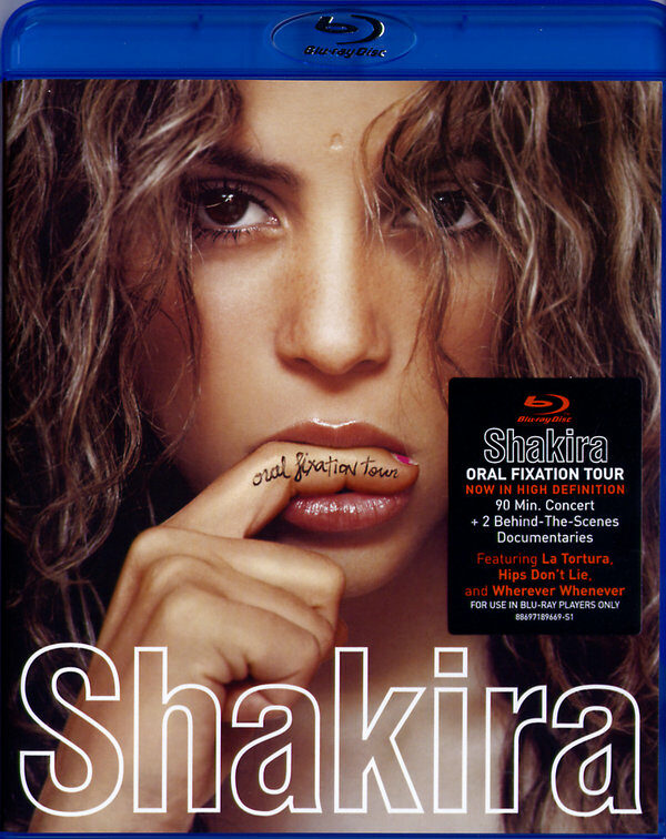 Shakira - Oral Fixation Tour  (+ CD) Blu-ray Bild