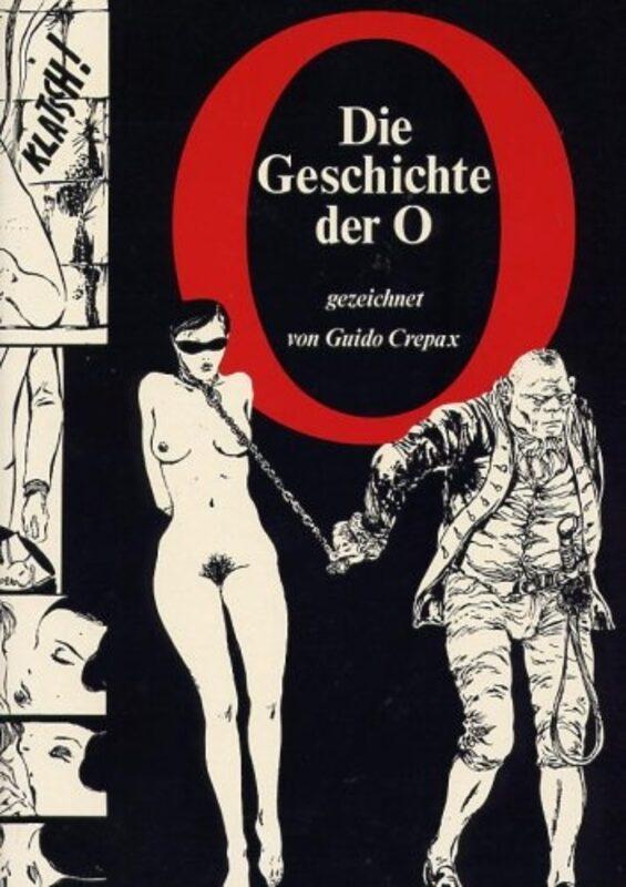 Crepax - Die Geschichte der O Comic Bild