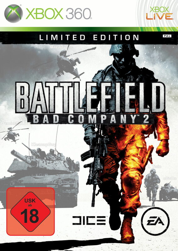Battlefield: Bad Company 2 - Limited Edition XBox 360 Bild