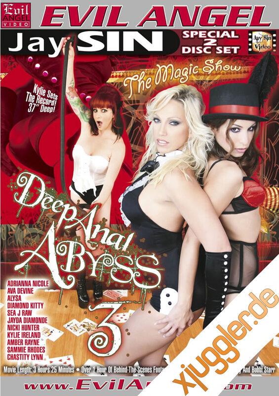 Deep Anal Abyss 3 DVD