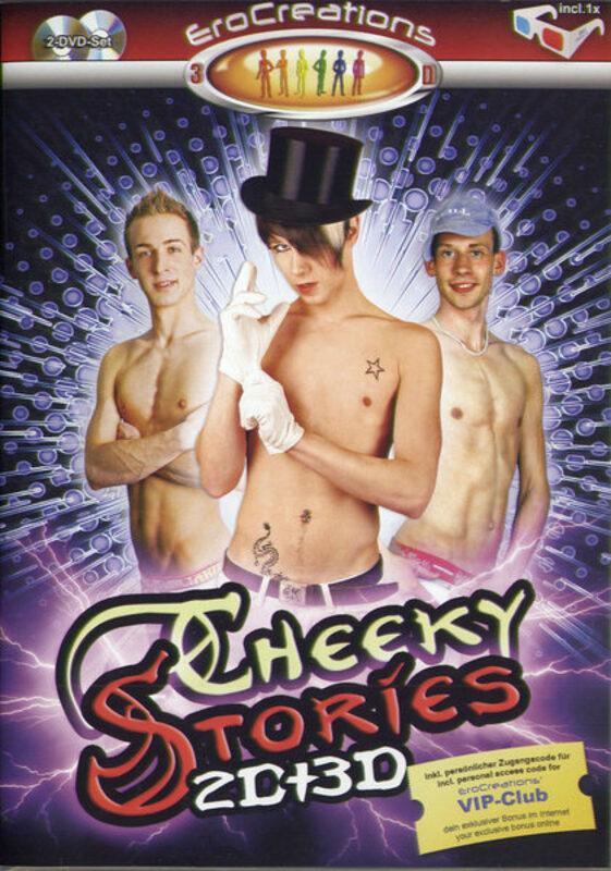 Cheeky Stories (1 2D + 1 3D) Gay DVD Bild