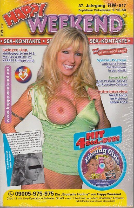 Happy Weekend Nr. 917 mit DVD Licking Girls DVD-Magazin Bild
