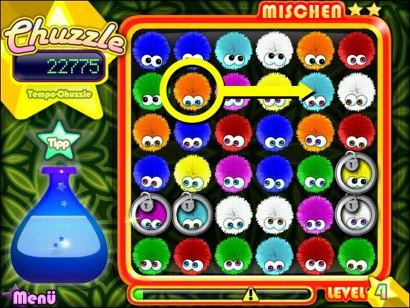 Chuzzle Deluxe Spiele
