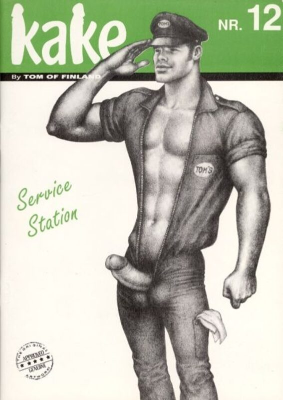 Tom of Finland - Kake Nr. 12 Gay Buch / Magazin Bild
