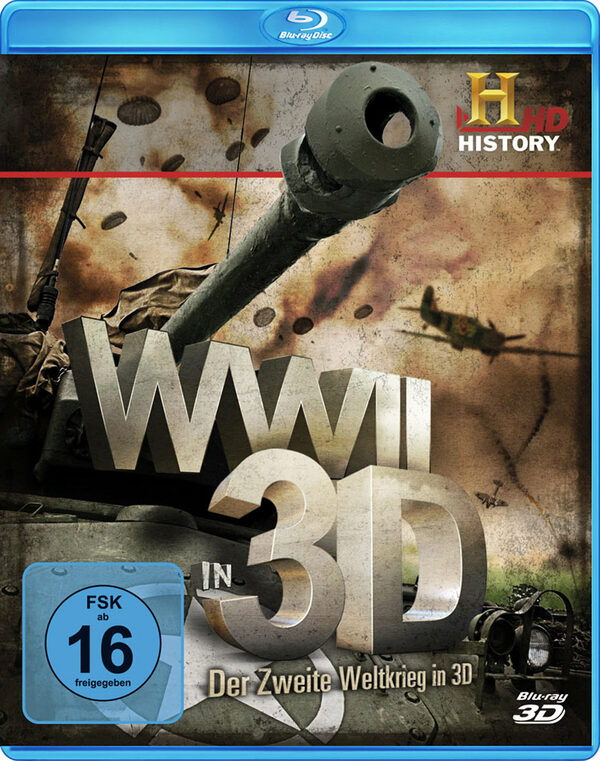 WWII - Der Zweite Weltkrieg in 3D Blu-ray Bild