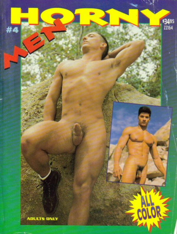 Horny Men #4 Gay Buch / Magazin Bild
