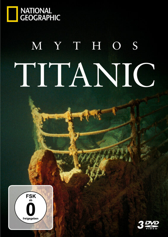 Mythos Titanic - National Geographic  [3 DVDs] DVD Bild