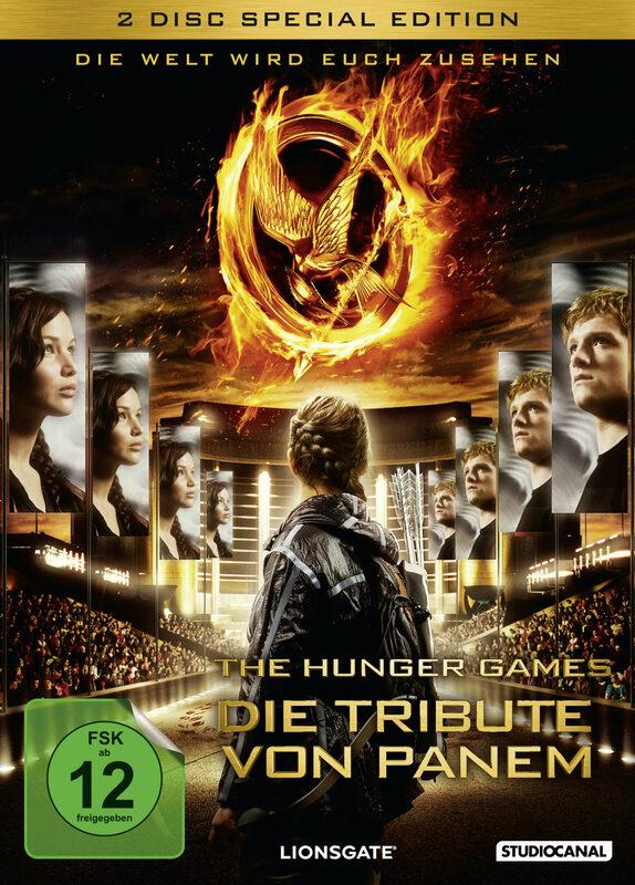 Die Tribute von Panem - The Hunger.. [SE] [2DVD] DVD Bild