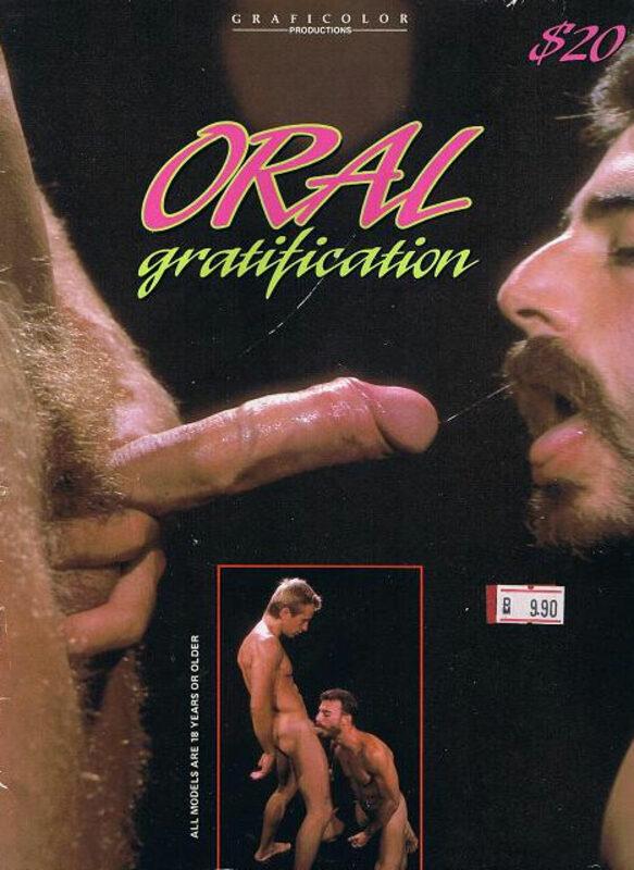 Oral Gratification Gay Buch / Magazin Bild