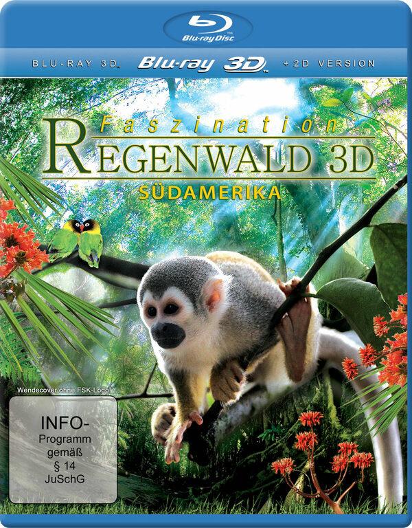 Faszination Regenwald 3D - Südamerika Blu-ray Bild