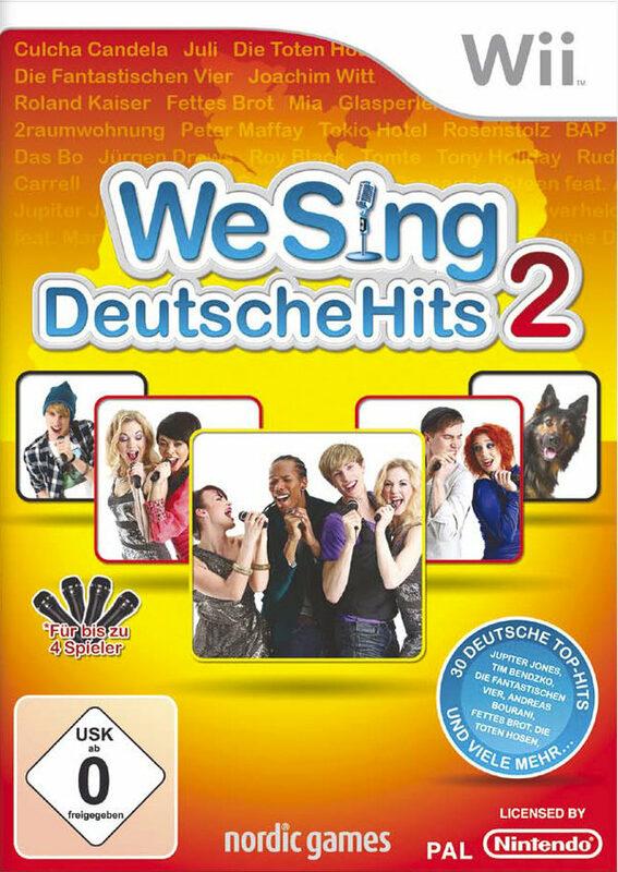 We Sing - Deutsche Hits 2 Nintendo WII Bild