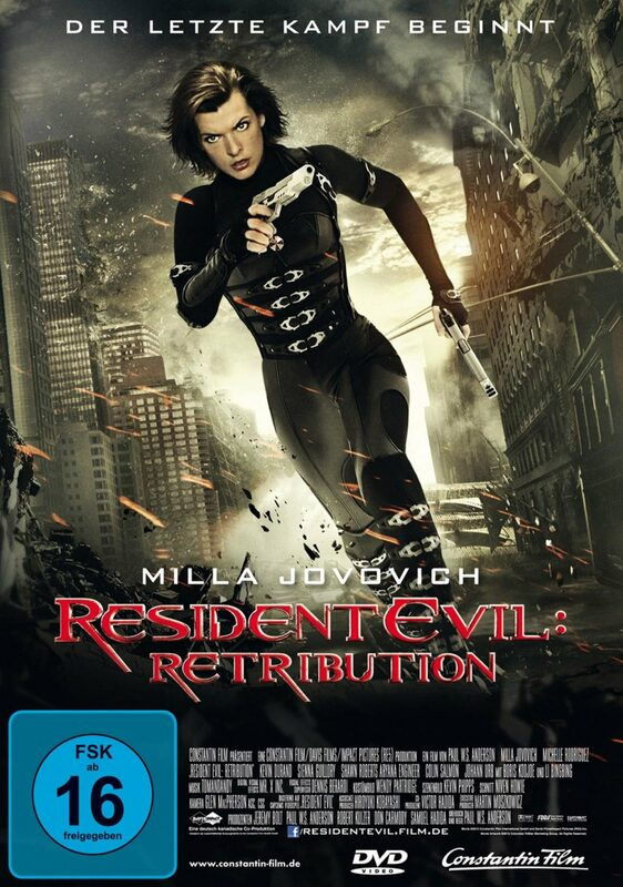 Resident Evil: Retribution DVD Bild