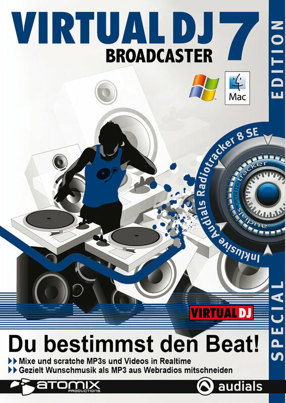 Virtual DJ 7 Broadcaster Special Edition PC Bild
