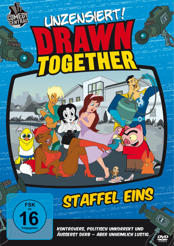 Drawn Together - Staffel 1 - Unzensiert [2 DVDs] DVD Bild