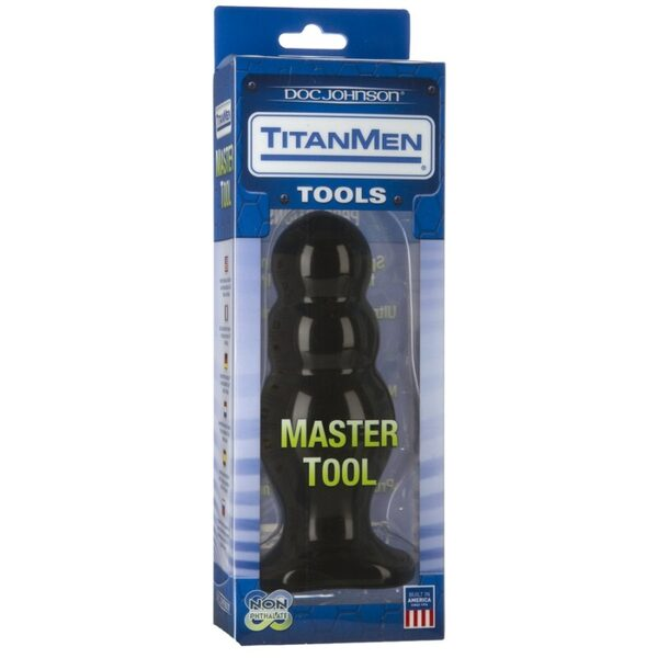 Master Tool #4 big Anal Plug 160 mm x 65 mm Gay Toys Bild