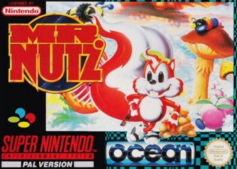 Mr. Nutz Super Nintendo Bild