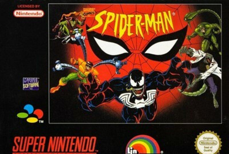 Spider-Man Super Nintendo Bild