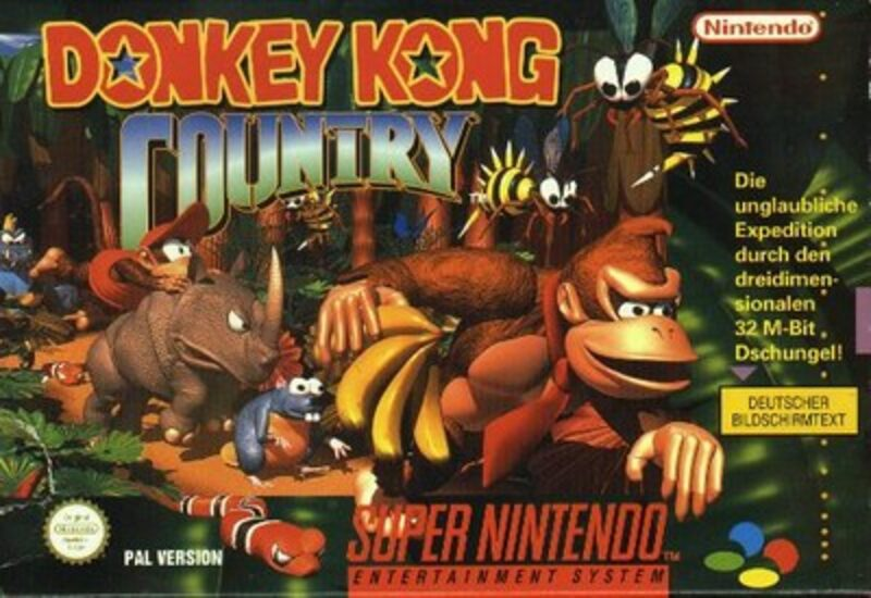 Donkey Kong Country 1 Super Nintendo Bild
