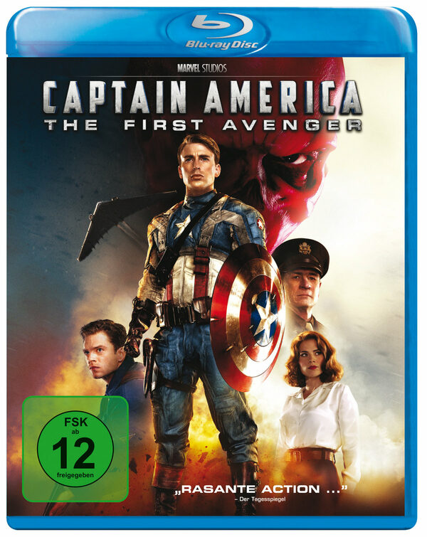 Captain America - The First Avenger Blu-ray Bild