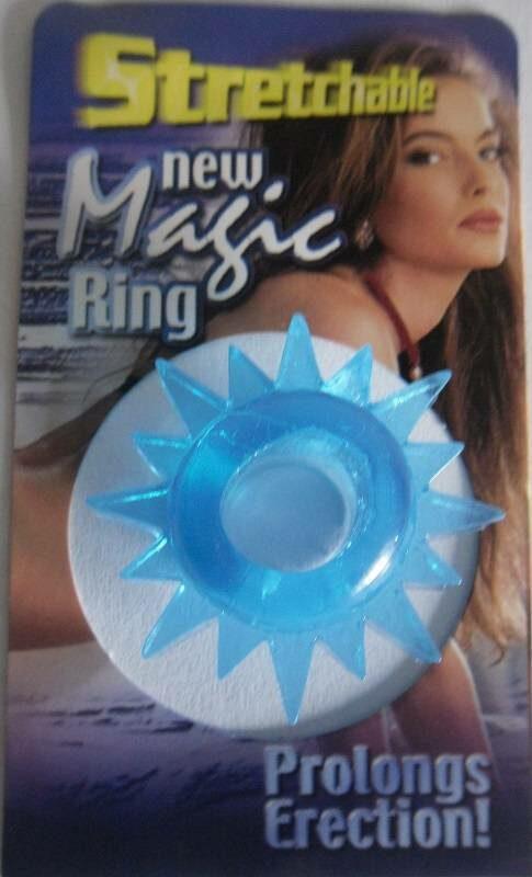Stretchable New Magic Ring, blau Toys Bild