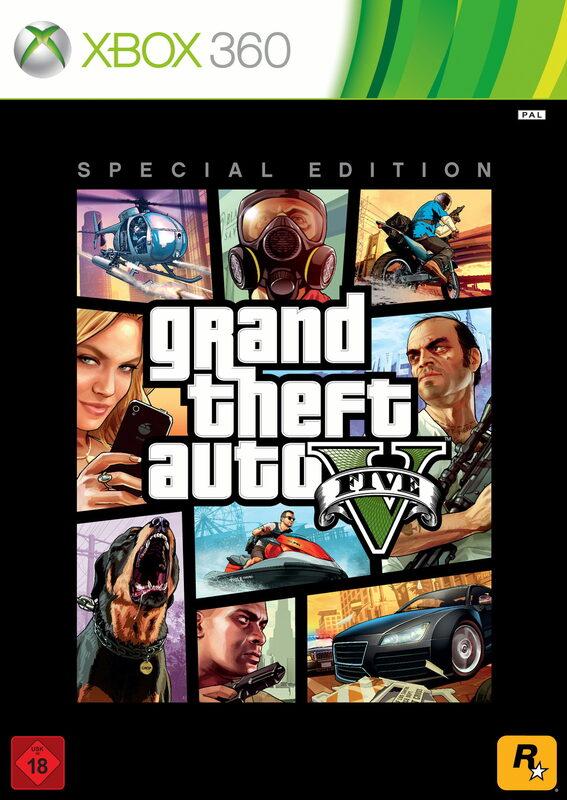 Grand Theft Auto V - Special Edition XBox 360 Bild