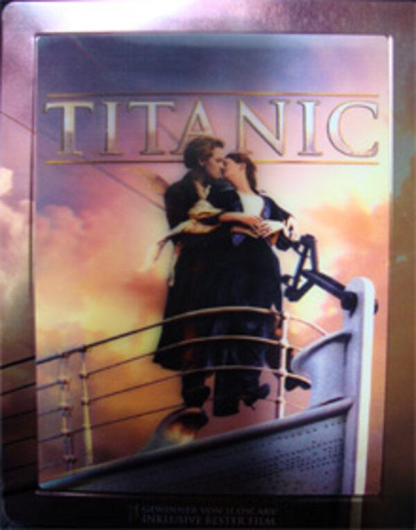 Titanic Steelbook Edition 3D und 2D Blu-ray Bild