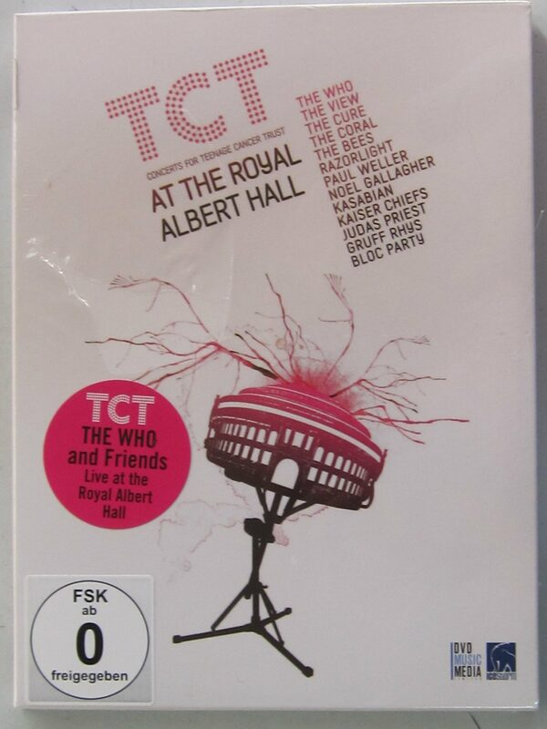 TCT concerts for teenage cancer trust at the royal Albert Hall DVD Bild