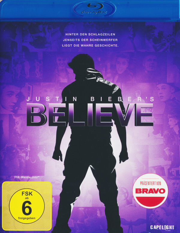 Justin Bieber's Believe Blu-ray Bild
