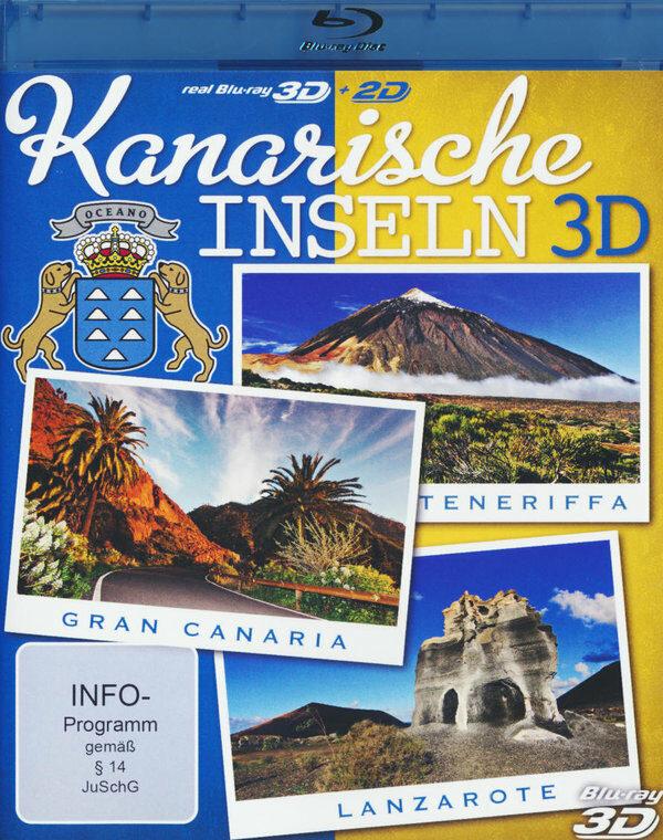 Kanarische Inseln 3D  (inkl. 2D-Version) Blu-ray Bild