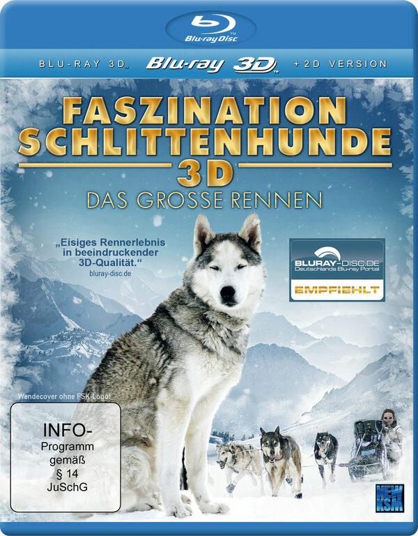 Faszination Schlittenhunde 3D - Das Grosse Renn. Blu-ray Bild
