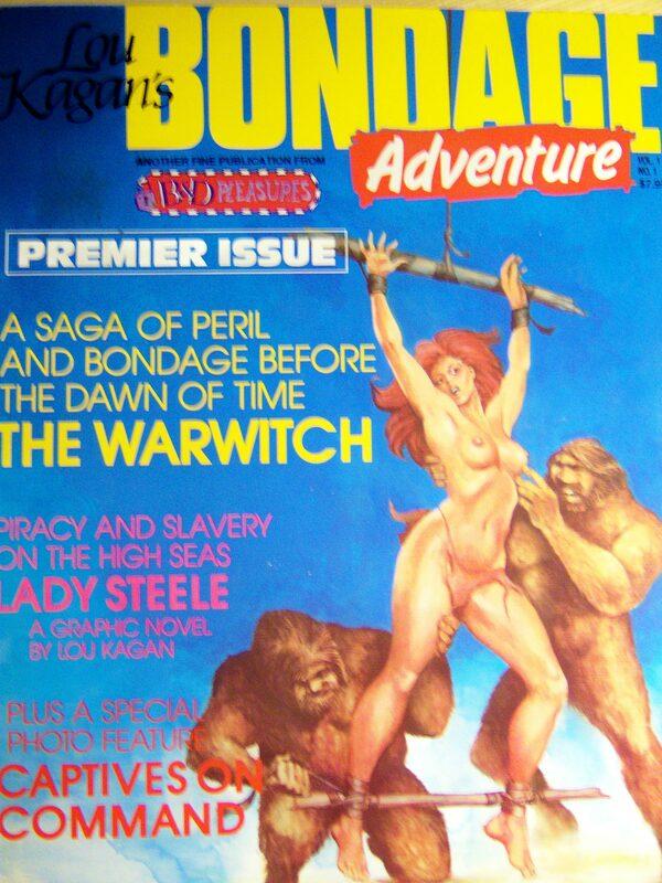 Lou KAGAN`S Bondage Adventure Vol.1 No. 1 Comic Bild