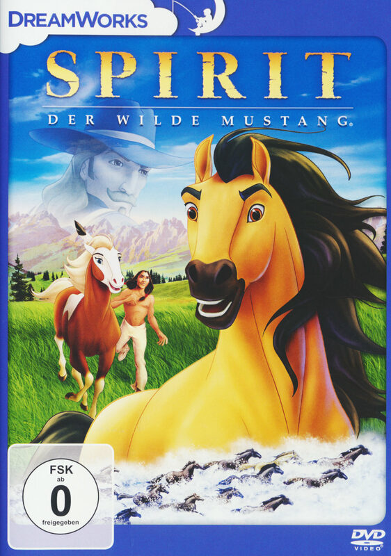 spirit  der wilde mustang film  xjuggler dvd shop
