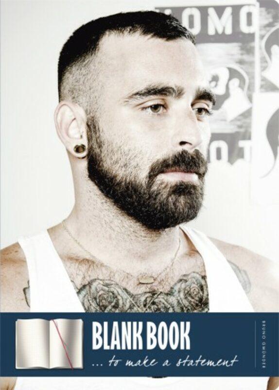 Blank book - Beards Gay Buch / Magazin Bild