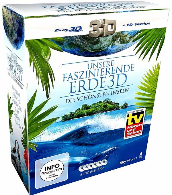 Die schönsten Inseln - Unsere... - Box  [6 BRs] Blu-ray Bild