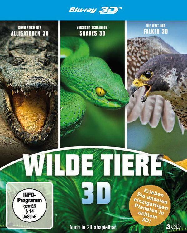 Wilde Tiere  [3 BR3Ds] Blu-ray Bild